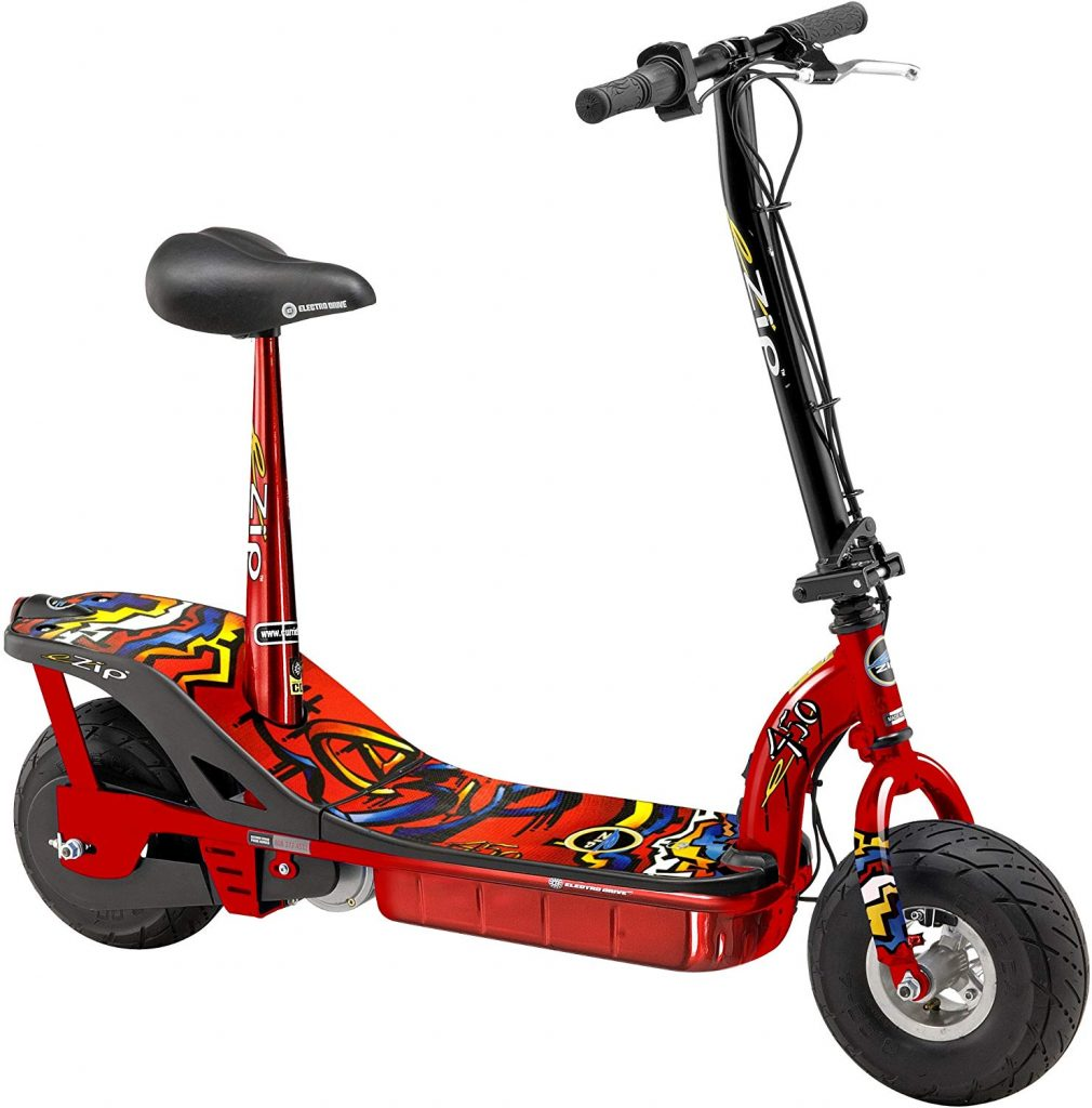 Currie eZIP E-500 electric scooters for kids