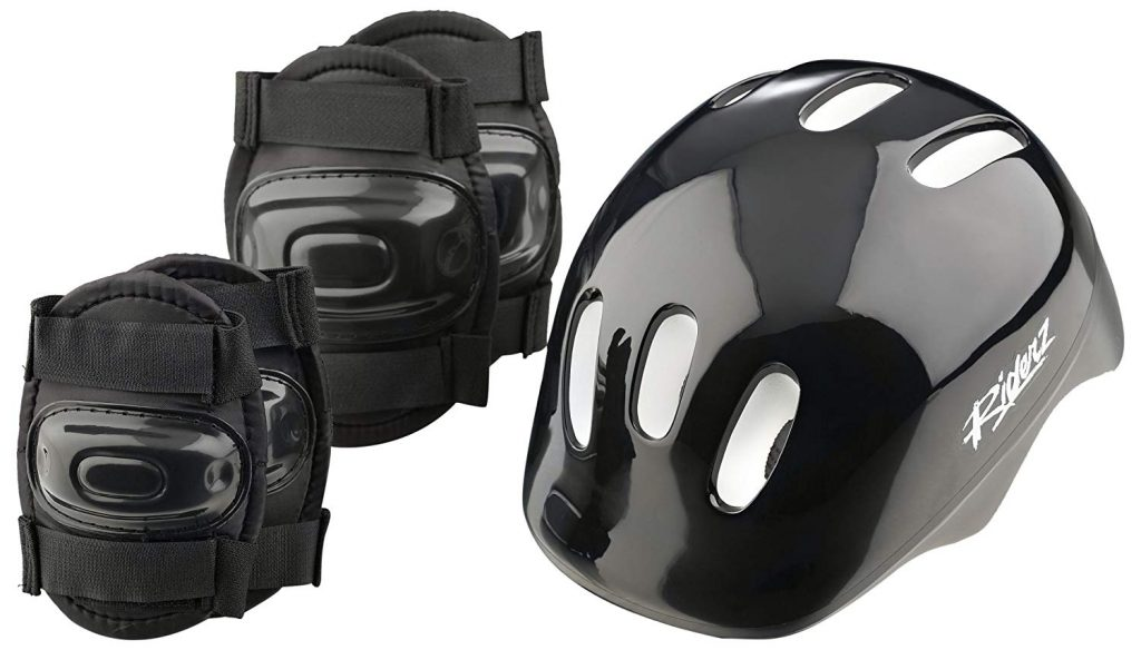 Riderz H&PB; Helmet and Pads Boys Set