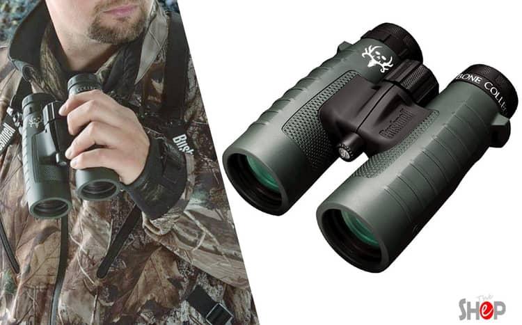 Bunshell binocular